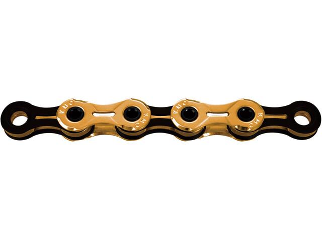 KMC X11SL Ti-N Bicycle Chain 11-speed, gold/black